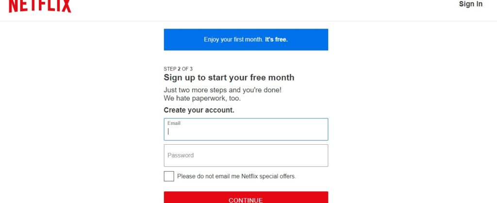 accounts of netflix free with passwords